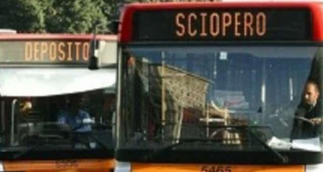 sciopero mezzi pubblici 2