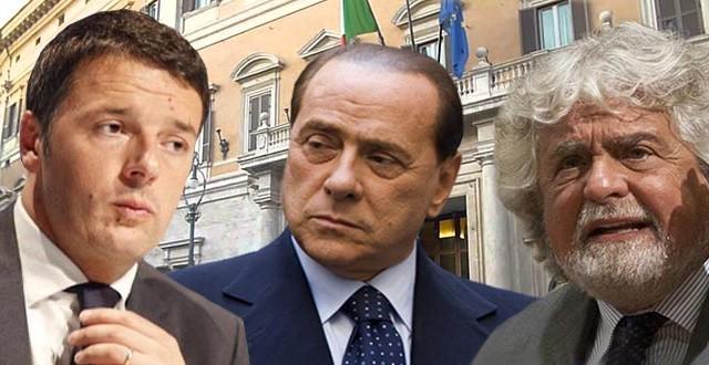 Grillo in marcia a Roma: 'se vince il No subito al voto'