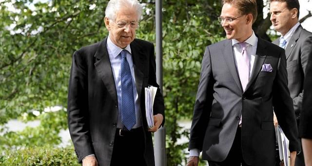 Prosegue la visita di Mario Monti in Finlandia. L'obiettivo del premier italiano è quello di creare una tela europea per una soluzione alla crisi dell'Euro