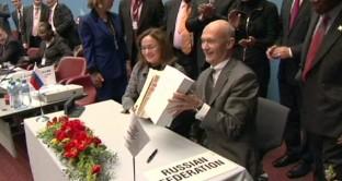 Dopo 18 anni di trattative arriva dalla Duma il sofferto