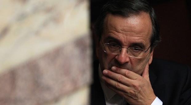 Drammatico appello di Samaras alla Troika: senza soldi a novembre le casse sono vuote