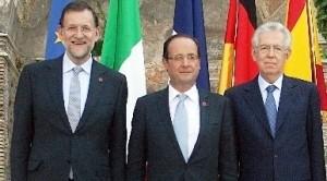Fosche prospettive per la Francia che per l'FMI rischia un futuro come quello di Italia e Spagna. Allarmato il governo Hollande che corre ai ripari
