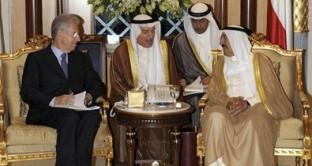 Tour arabo per il premier Mario Monti che dimostra, sempre di più, di non essere intenzionato a farsi da parte.