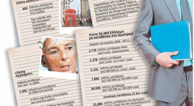 Scontro politico-sociale durissimo in Grecia dopo le correzioni apportate alla Lista Lagarde sui grandi evasori fiscali. Mentre i governi del socialista Giorgos Papandreou e del