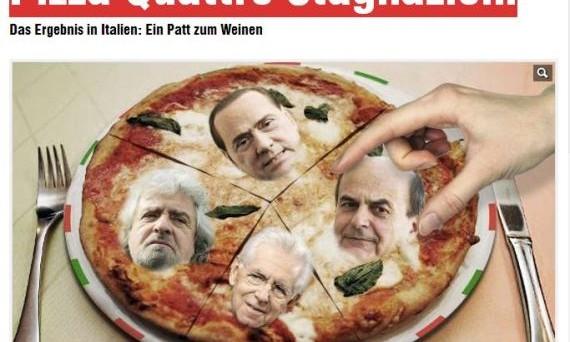 La Germania è sempre più tentata dall'isolazionismo e tra i politici tedeschi, in vista delle elezioni, è già iniziata la corsa a chi è più duro e inflessibile con l'Italia, capro espiatorio dei problemi dell'Europa