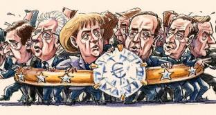 La moneta unica come un matrimonio infelice: i paesi stanno insieme per paura dei costi del divorzio, ma non essendo disposti ad accettare il necessario riequilibrio, finiranno per mollare.