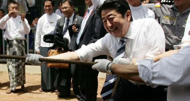 abenomics Abe
