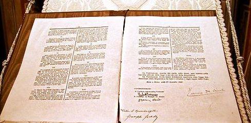 costituzione Gran Bretagna