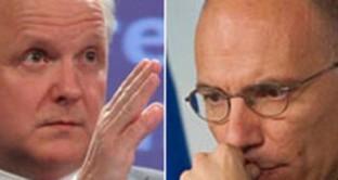 Le dichiarazioni di Olli Rehn mettono all'angolo il governo Letta. Raffica di critiche dal PdL ma l'impressione è che i margini per un rinvio siano sempre più sottoli
