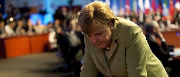 Cancelliera ha promesso in campagna elettorale di opporsi a Eurobond, qualora fossero proposti in sede europea. Vittoria di ieri del suo partito rafforza la linea dura dei tedeschi