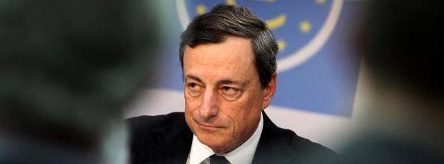 Mario Draghi banche