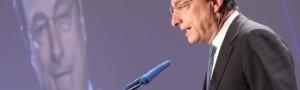 Draghi rivendica la decisione di portare i tassi di riferimento allo 0,25%, minimo storico.