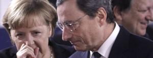 Merkel Draghi