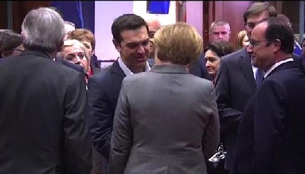 Giovedì, il premier greco Alexis Tsipras e la cancelliera Angela Merkel s'incontreranno al margine di un vertice europeo per discutere sul futuro della Grecia, che senza aiuti andrebbe presto in default.