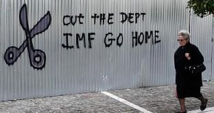 La Grecia presenta numeri da depressione economica e le serve un haircut da 95 miliardi per il NIESR.