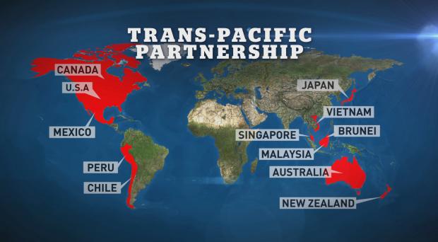 Il Trans-Pacific Partnership è  un accordo storico di libero scambio  tra 12 economie del Pacifico, tra cui USA, Giappone, Canada, Messico e Australia. Ecco cosa potrebbe comportare per l'economia mondiale.
