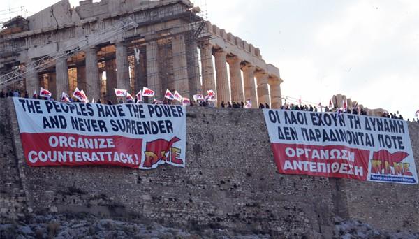 Sciopero generale in Grecia, dove la stessa Syriza invita a protestare contro le sue riforme.