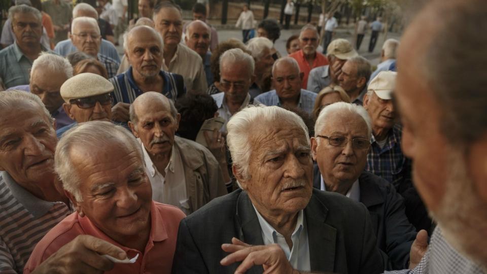In grecia sempre scontro sulle pensioni con i creditori for Pensioni amsterdam centro economici