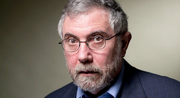 Paul Krugman attacca l'euro in un'intervista alla stampa tedesca e sprona le banche centrali ad alzare il target d'inflazione al 3%.