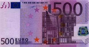 Da fine gennaio le banche europee smetteranno di produrre il taglio da 500 euro, solo Germania e Austria continueranno la produzione fino ad aprile.