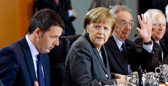 La partita sull'economia tra Italia e Germania si chiude con una pesante sconfitta per il nostro paese, che si allontana anche dalla Francia, anch'essa in crisi. La ricchezza delle nostre famiglie è stata già raggiunta da quelle tedesche.