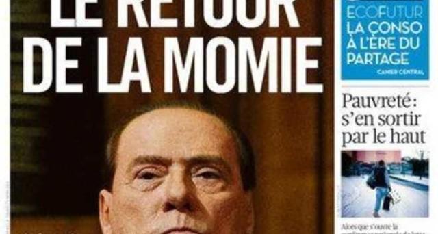 La stampa estera si è sbizzarrita nei titoli sbeffeggiando Berlusconi, dal