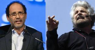 """L'ex pm corteggia il Movimento 5 Stelle ma per Beppe Grillo è un """"bidone aspiratutto"""""""
