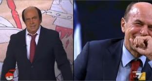 Bersani-Crozza racconta l'incontro con Berlusconi