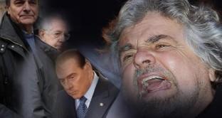 Gli italiani non votano a caso: ai seggi c'è stato uno scontro generazionale e tra ceti sociali. Beppe Grillo spiega le ragioni alla base del successo del Movimento 5 Stelle e invoca la