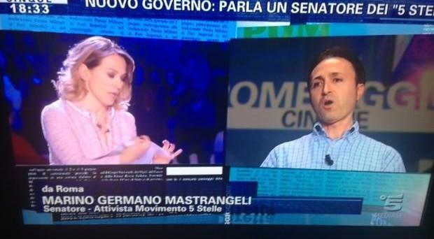 30 aprile 2013, votazioni online per l'espulsione del senatore Marino Mastrangeli dal Movimento 5 Stelle