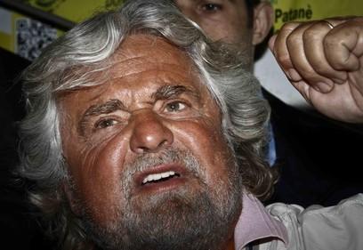 Grillo attacca il governo Letta e parla di