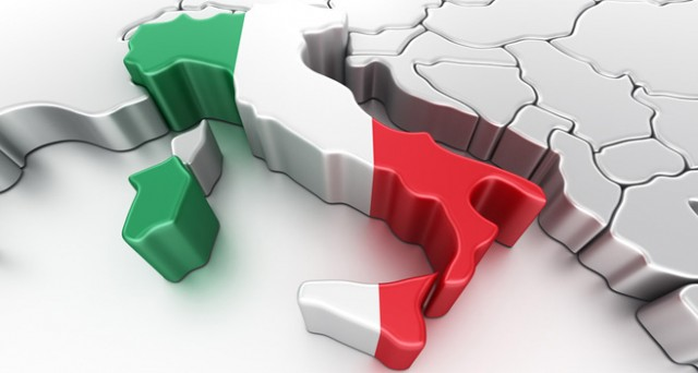 Nel 2012 la caduta dell'Italia è la più fragorosa nel contesto dei Paesi dell'Euro Zona