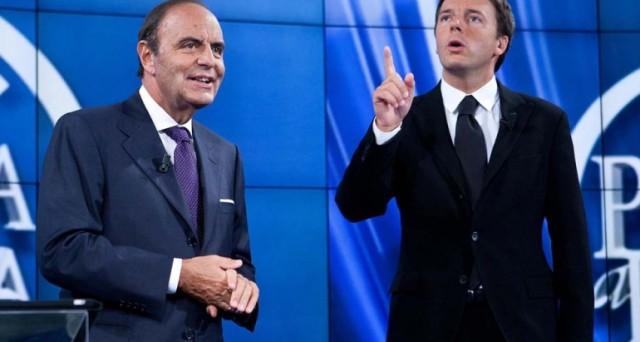 Renzi e Vespa avevano fatto una scommessa in diretta a Porta a Porta: ecco perchè a pagare pegno saranno entrambi