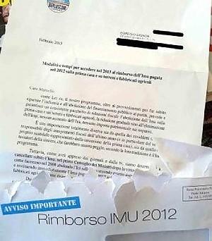 Promette la restituzione dell'Imu versato ma nella lettera chiede il voto: per Ingroia è reato