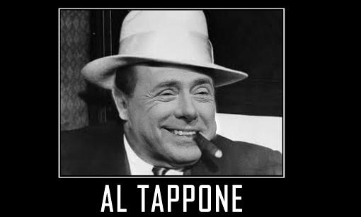 Duro post sul blog di Beppe Grillo su Silvio Berlusconi dopo la condanna per frode fiscale.
