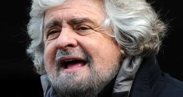 Beppe Grillo non viene invitato ai dibattiti in Tv e gli vengono preferiti Bersani, Berlusconi e Monti.