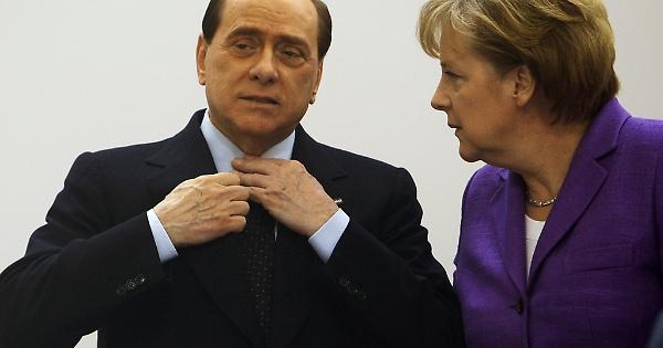 Silvio Berlusconi e Angela Merkel s'incontrano oggi al Congresso del PPE a Madrid. Che si diranno?