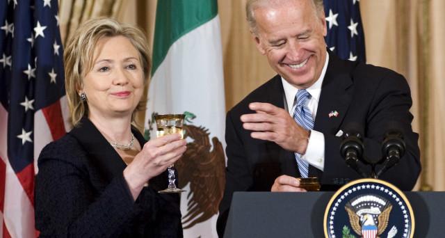 Hillary Clinton scivola nei sondaggi per le primarie USA, mentre avanza la popolarità di Joe Biden tra i democratici.