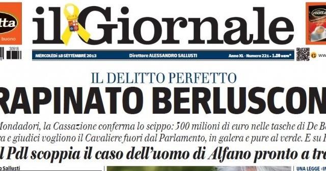 Fininvest: condanna con sconto. Ma Marina Berlusconi non ci sta e urla all'ingiustizia e all'accanimento delle toghe rosse