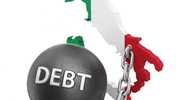 Un avanzo di cassa di 5 mld ha permesso una leggera contrazione del debito pubblico italiano