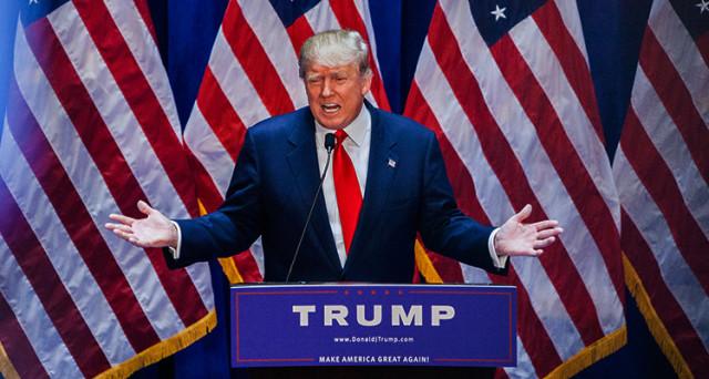 Donald Trump continua a mietere consensi e dichiara