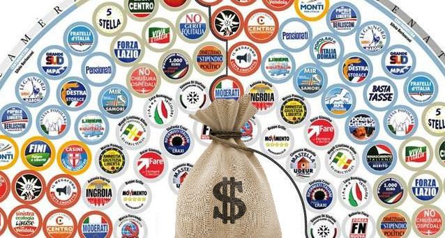 La legge sull'abolizione del finanziamento pubblico ai partiti è stata approvata alla Camera. Ira del M5s, no anche da Sel.