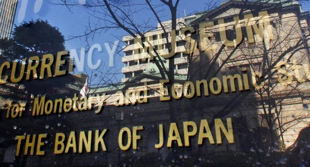 Economia in crescita in Giappone, ma non dinamica. Inflazione prossima allo zero. La Bank of Japan varerà nuovi stimoli per deprimere lo yen.