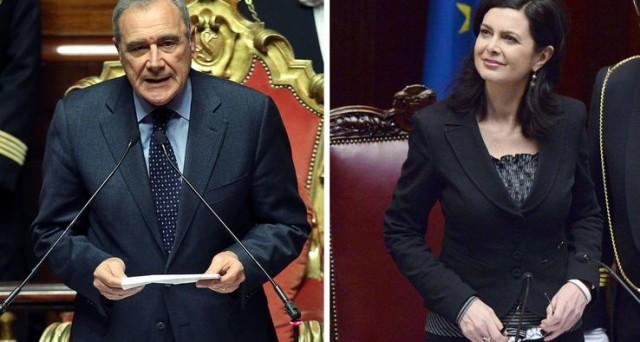 I nuovi presidenti di Camera e Senato annunciano una nuova politica di tagli per quanto riguarda le spese di Palazzo