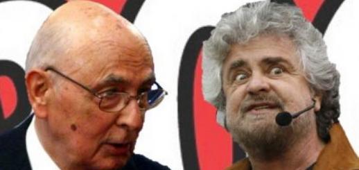 Ecco i risultati del sondaggio condotto nella giornata di ieri sul blog di Beppe Grillo sull'errore più grave di Giorgio Naplitano.