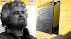 Beppe Grillo fa il punto della situazione dopo i risultati elettorali delle politiche, nelle quali il suo movimento è risultato il primo d'Italia.