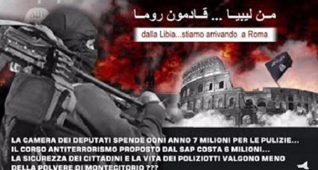 Il Sap ha organizzato oggi una manifestazione per sensibilizzare il governo Renzi e l'opinione pubblica in materia di sicurezza: la polizia italiana, oggi, non è pronta ad affrontare la minaccia terroristica.