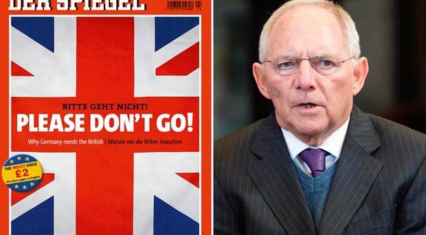 Referendum Brexit, tedeschi contro Londra: se lasciate la UE, dite addio anche al mercato comune. E arriva la conferma: niente più integrazione.