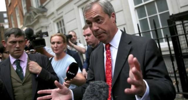 Referendum sulla Brexit, le previsioni sulla sterlina non preoccupano Nigel Farage, uno dei principali leader per i
