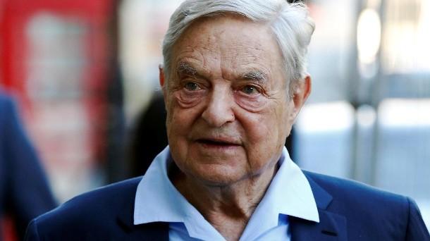 George Soros scommette contro Deutsche Bank in borsa. Il titolo perde quest'anno più del 40%.